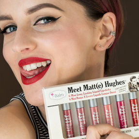Губы после Meet Matte Hughes Mini Kit 2