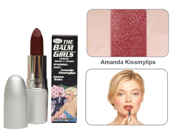 theBalm Girls - Amanda Kissmylips